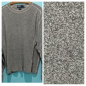 Polo By Ralph Lauren Grey Sweater. Men's size XXL